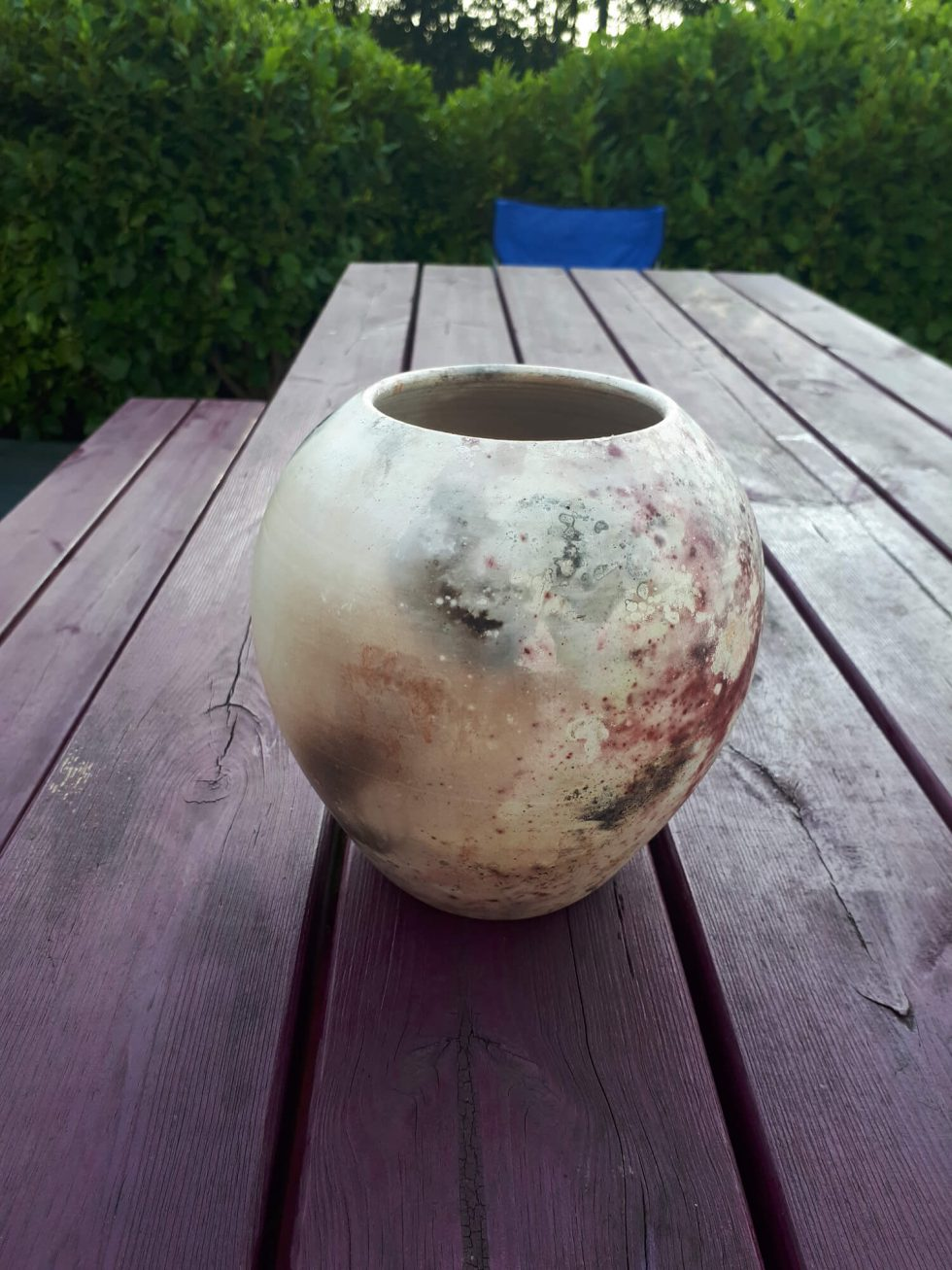 Fresh from the pit firing