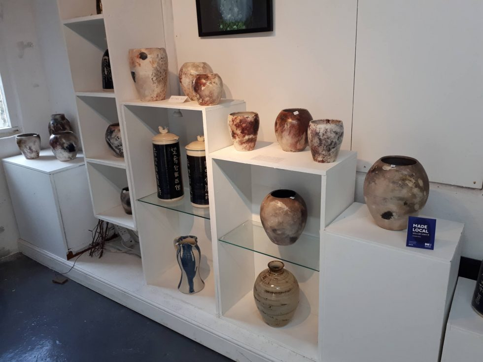 Gallery at Benbulben Pottery