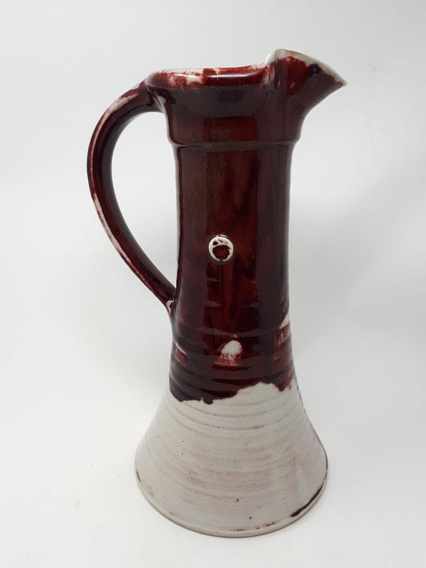 Copper red large jug
