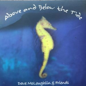CD cover for Above and Below the tide